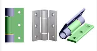 Soft-close aluminium hinges prevent 'slam-shut'