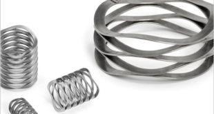 Wave springs performs spring function in minimal spaces