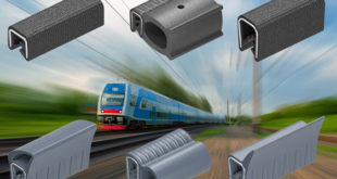 Flame-retardant, low smoke, low tox gaskets for the rail industry