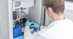 Analysing boiler feedwater, steam, condensate and ion exchangers