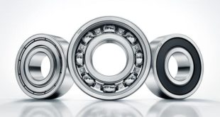 Deep groove ball bearings offer less noise and lower friction