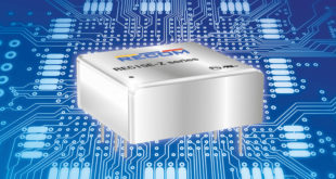 DC/DC converters in compact 1 x 1-in footprint