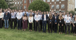 Renishaw's graduate scheme ranked top three of national poll