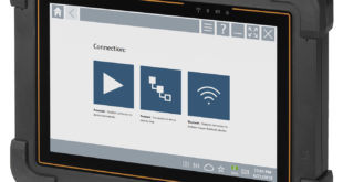 Tablet PC tool for commissioning and maintenance staff