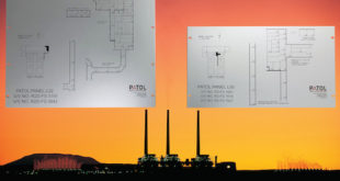 In-house panel printing capability used in fire detection system