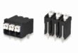 Screwless terminal blocks for high temperature operation