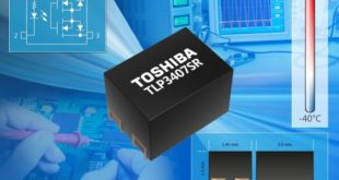 Voltage drive photorelay with a 2.9mm2 footprint