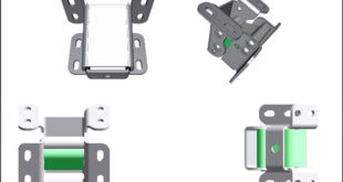 Heavy duty parallelogram hinges from offer easy operation and 110° opening