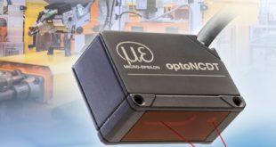 Miniature laser displacement sensor