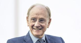 Renishaw's Sir David McMurtry awarded James Watt Gold Medal