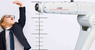 Articulated-arm robot for medium-level applications