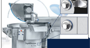 Hygiene locks for food industry equipment