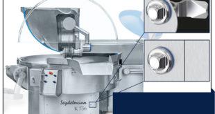Hygiene locks for food industry equipment