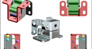 125° corrosion resistant hinges