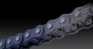 Doubling conveyor chain service life