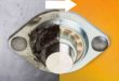 Lubrication-free spherical polymer components replace metal bearings