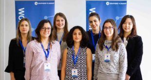 Support network for women working in graphene science