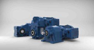 Geared motors cover torque between 50 and 18,000Nm