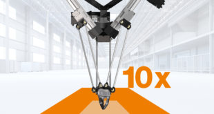 Robot now available with 10x larger working space