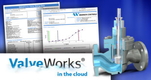 Warren Controls creates ValveWorks program to improve the sizing and selection process for globe and rotary control valves based on the ISA 75.01 international standard