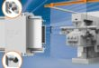 Hybrid roller bearings for easy adjustment in lateral positioning systems