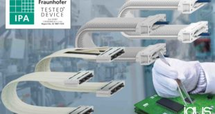 e-skin energy chain systems receive ISO Class 1 certification for cleanrooms