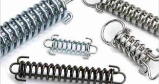 Drawbar springs with inbuilt safety feature