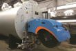 Low emission burner available for small steam boilers