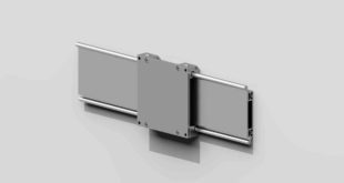 How to install hybrid linear guides onto a wall