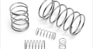 Compression springs provide the delicate touch