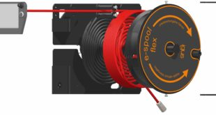 How cable reel with spiral guide solves all panel feed needs