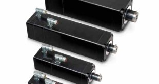 High force integrated actuator reduces footprint and extends service life