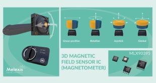 Automotive-grade 3D Hall effect sensor