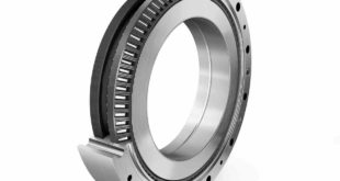 Conical thrust cage needle roller bearing for robot and cobot joints