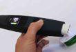 Handheld plasma treatment device