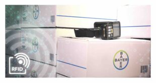 RFID technology improves supply chain transparency