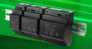 Low-cost DIN rail mount AC-DC power supplies