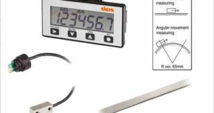 Magnetic measuring system with seven-digit display