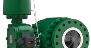 Full-bore ball control valve combats vibration, cavitation and noise