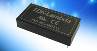 30W medical and industrial DC-DC converters have 5kVac reinforced isolation