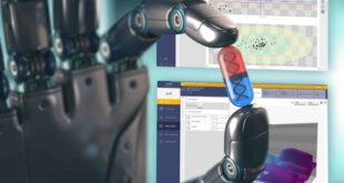Integrating process analytical technologies and robotics
