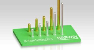 Robust larger diameter terminal pins