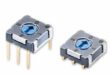 Micro rotary DIP switches for space-constrained designs