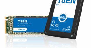 SMART Modular, High-Speed Flash Memory Drives, Aerospace, Defence, Industrial, T5EN PCIe,