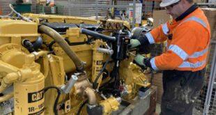 Rebuild service for industrial engines