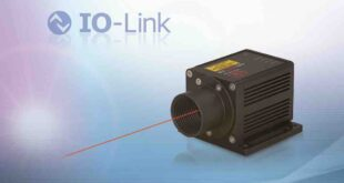 Laser distance sensor with IO-Link simplifies integration and commissioning in industrial automation environments