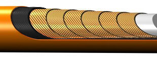Ultra-high-pressure hose extends service life in water-jetting applications