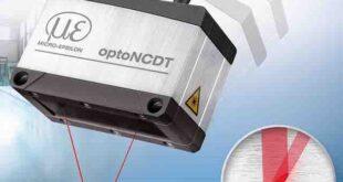 Laser line triangulation sensor